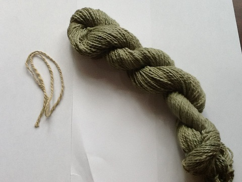 Gary's Green Cotton Skein