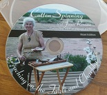 DVD cover for Cottong Spinning on the Takli